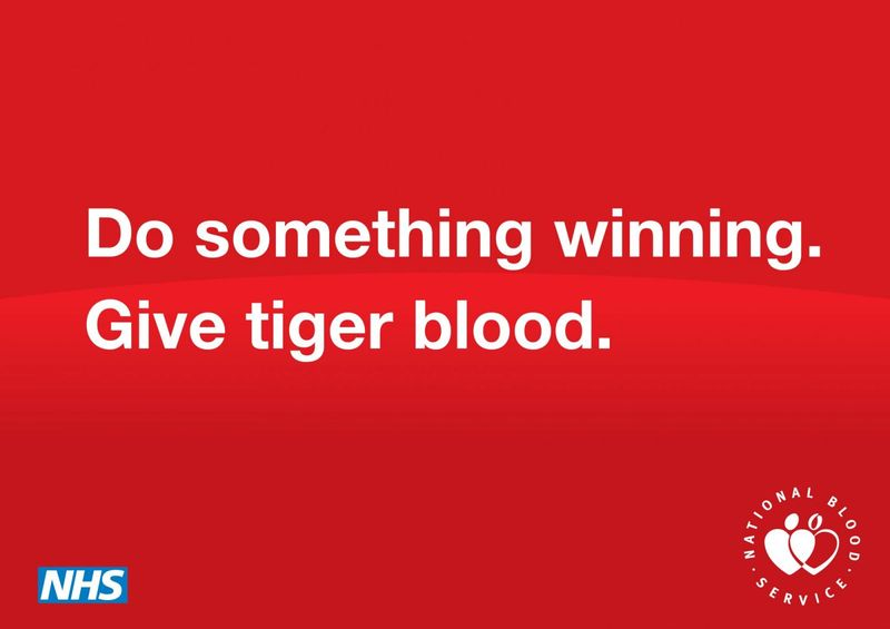 National Blood Service - Tiger Blood
