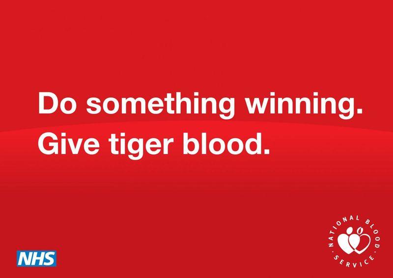 National Blood Service - Tiger Blood